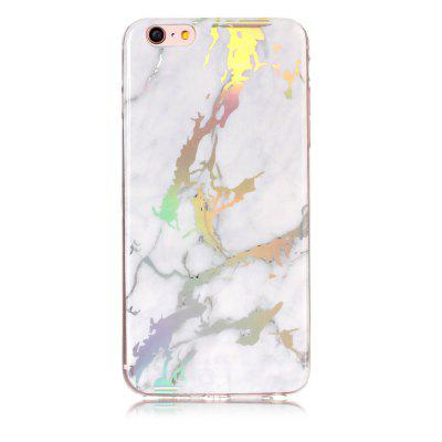 Hot Granite Marble Texture Phone Case Soft TPU Back Cover for iPhone 6 Plus / 6s Plus iface mall glossy pc non slip tpu back case for iphone 6 plus 6s plus cyan