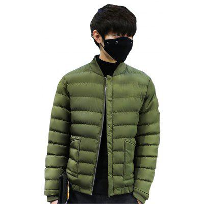 2017 Mens Handsome And Slim ClothesMens Jackets &amp; Coats<br>2017 Mens Handsome And Slim Clothes<br><br>Clothes Type: Down &amp; Parkas<br>Materials: Polyester<br>Package Content: 1 X Coat<br>Package size (L x W x H): 1.00 x 1.00 x 1.00 cm / 0.39 x 0.39 x 0.39 inches<br>Package weight: 0.2000 kg<br>Size1: M,L,XL,4XL,2XL,3XL