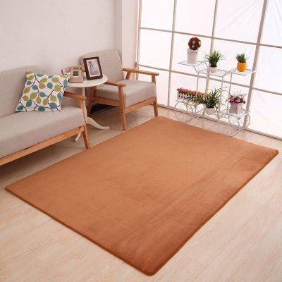 Buy KHAKI 80X120CM Doormat Modern Style Solid Water Proof Carpet. for $23.04 in GearBest store