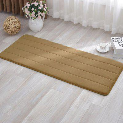 Anti-skid Memory Foam Bath MatCarpets &amp; Rugs<br>Anti-skid Memory Foam Bath Mat<br><br>Category: Carpet,Mat<br>For: All<br>Material: Cotton, Others, Polyester fibre<br>Occasion: Office, Living Room, Kitchen Room, Dining Room, Bedroom, Bathroom<br>Package Contents: 1 x carpet<br>Package size (L x W x H): 10.00 x 15.00 x 5.00 cm / 3.94 x 5.91 x 1.97 inches<br>Package weight: 0.1400 kg