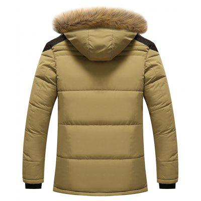 New Winter Coat and Cashmere Thick Cotton Padded JacketMens Jackets &amp; Coats<br>New Winter Coat and Cashmere Thick Cotton Padded Jacket<br><br>Clothes Type: Padded<br>Collar: Stand Collar<br>Fabric Type: Satin<br>Material: Polyester<br>Package Contents: 1 xCoat<br>Season: Winter<br>Shirt Length: Regular<br>Sleeve Length: Long Sleeves<br>Style: Casual<br>Weight: 1.3000kg