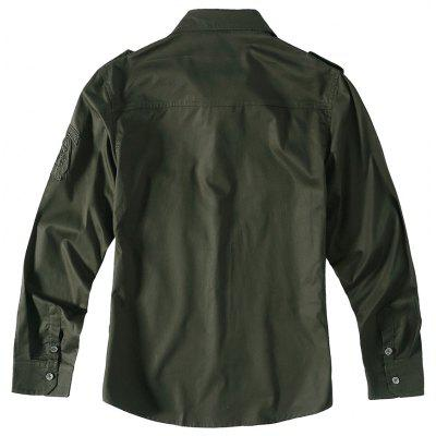 Military Water Washing Pure Cotton Air Force One Long Sleeved ShirtMens Shirts<br>Military Water Washing Pure Cotton Air Force One Long Sleeved Shirt<br><br>Collar: Turn-down Collar<br>Fabric Type: Satin<br>Material: Cotton<br>Package Contents: 1 xShirt<br>Shirts Type: Casual Shirts<br>Sleeve Length: Full<br>Weight: 1.5000kg