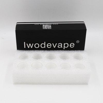 Original Iwodevape E-Cig Atomizer TFV4 mini  Glass Tube 10PCS/BOX