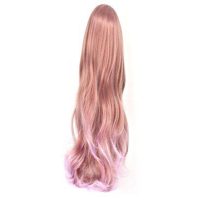 Long Curly Cosplay Wig brown Gradient purple Wavy With Bangs Hairstyle wigs for women High Temperature Fiber fake hair natural mix brown fashion bob wig short brown red wig with bangs women breathable wigs heat resistant synthetic wigs cosplay
