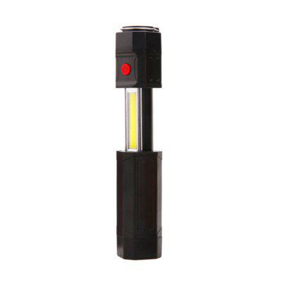 BRELONG LED Retractable Flashlight  Outdoor camping nightlightsLED Flashlights<br>BRELONG LED Retractable Flashlight  Outdoor camping nightlights<br><br>Battery Included or Not: No<br>Battery Quantity: 4<br>Battery Type: AAA<br>Body Material: ABS<br>Color Temperature: 6000-6500<br>Emitters: Other<br>Emitters Quantity: 2<br>Feature: Zoomable, Batteries<br>Flashlight size: Small<br>Flashlight Type: Tiny<br>Function: EDC, Night Riding, Walking, Backpacking, Work<br>High Mode: 8 hours<br>Low Mode: 13 hours<br>Max.: 13 hours<br>Package Contents: 1 x  Retractable flashlight<br>Package size (L x W x H): 16.00 x 4.00 x 4.00 cm / 6.3 x 1.57 x 1.57 inches<br>Package weight: 0.1600 kg<br>Power Source: Battery,Battery<br>Product size (L x W x H): 15.00 x 3.50 x 3.50 cm / 5.91 x 1.38 x 1.38 inches<br>Product weight: 0.1500 kg<br>Working Voltage: 4.5v