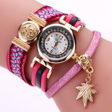 Duoya D134 Ladies Bracelet Watch Ladies Wear Watch Jewelry Watch
