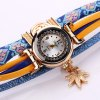 Duoya D134 Ladies Bracelet Watch Ladies Wear Watch Jewelry Watch - BLUE