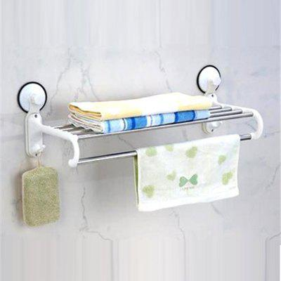 Sucker bathroom hook towel rack