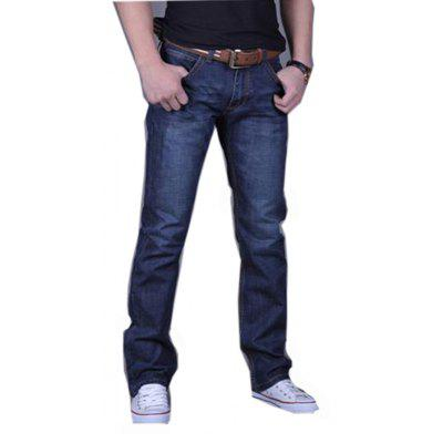 Männer Casual Work Sport Pure Pant Jeans