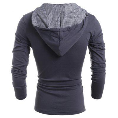 MenS Casual Daily Hoodie Solid Hooded Micro Elastic PolyesterMens Hoodies &amp; Sweatshirts<br>MenS Casual Daily Hoodie Solid Hooded Micro Elastic Polyester<br><br>Material: Cotton<br>Package Contents: 1 X Hoodie<br>Shirt Length: Regular<br>Sleeve Length: Full<br>Style: Casual<br>Weight: 0.2800kg
