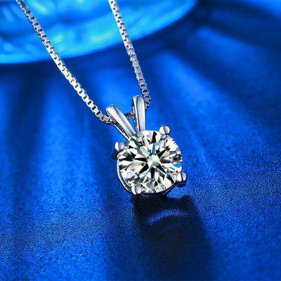 White Gold Plated Vintage Diamond Wedding Chain Necklace for Women MSN002Necklaces &amp; Pendants<br>White Gold Plated Vintage Diamond Wedding Chain Necklace for Women MSN002<br>