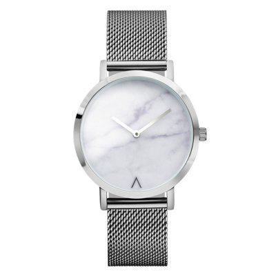 REEBONZ Fashion Women Crystal Stainless Steel Analog Quartz Wrist Watch
