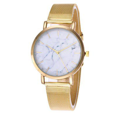 REEBONZ Luxury Brand Fashion Quartz Ladies Casual Stainless Steel Bracelet Watch