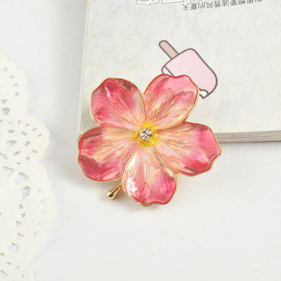 Peach Blossom Brooch Jewelry Women Brooches for ScarfBrooches<br>Peach Blossom Brooch Jewelry Women Brooches for Scarf<br><br>Brooch Type: Brooch<br>Gender: For Women<br>Material: Zinc Alloy<br>Package Contents: 1 x Brooch<br>Package size (L x W x H): 10.00 x 7.00 x 10.00 cm / 3.94 x 2.76 x 3.94 inches<br>Package weight: 0.0130 kg<br>Shape/Pattern: Floral<br>Style: Classic<br>Weight: 0.1400kg