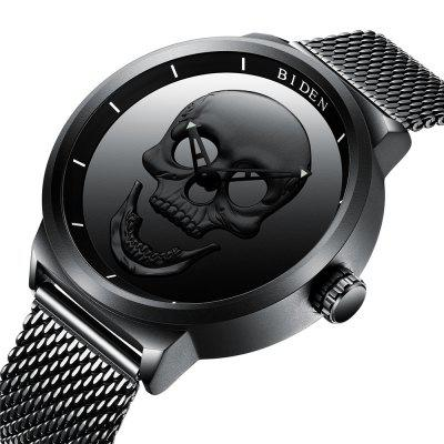 BIDEN 0063 4926 Fashion and Fashion Head Dial Waterproof Steel Mesh Band Quartz WatchMens Watches<br>BIDEN 0063 4926 Fashion and Fashion Head Dial Waterproof Steel Mesh Band Quartz Watch<br><br>Band material: Fine steel<br>Band size: 26 x 2cm<br>Brand: BIDEN<br>Case material: Alloy<br>Clasp type: Folding clasp with safety<br>Dial size: 4.8 x 4.8 x 1.2cm<br>Display type: Analog<br>Movement type: Quartz watch<br>Package Contents: 1 x Watch, 1 x Box<br>Package size (L x W x H): 28.00 x 8.00 x 3.50 cm / 11.02 x 3.15 x 1.38 inches<br>Package weight: 0.1460 kg<br>Product size (L x W x H): 26.00 x 4.80 x 1.20 cm / 10.24 x 1.89 x 0.47 inches<br>Product weight: 0.1160 kg<br>Shape of the dial: Round<br>Watch mirror: Mineral glass<br>Watch style: Casual, Business, Fashion<br>Watches categories: Men<br>Water resistance: 30 meters<br>Wearable length: 26 - 30.5cm