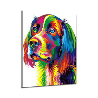 Abstract Without Frame Animal Dog Decorative Oil Painting