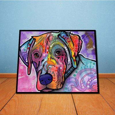 Lovely Dog Without Frame Decorative Oil Painting