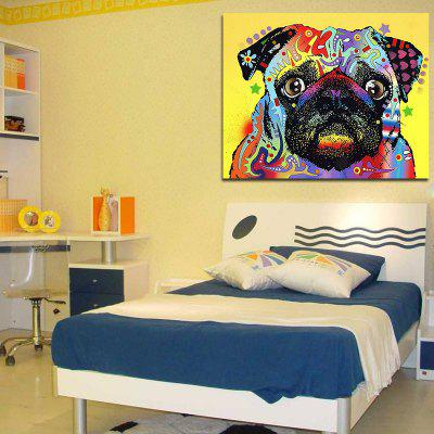 Cute Dog Without Frame Oil PaintingOil Paintings<br>Cute Dog Without Frame Oil Painting<br><br>Craft: Oil Painting<br>Form: One Panel<br>Material: Canvas<br>Package Contents: 1 x Oil Painting<br>Package size (L x W x H): 30.00 x 5.00 x 5.00 cm / 11.81 x 1.97 x 1.97 inches<br>Package weight: 0.1000 kg<br>Painting: Without Inner Frame<br>Product size (L x W x H): 30.00 x 40.00 x 5.00 cm / 11.81 x 15.75 x 1.97 inches<br>Product weight: 0.0500 kg<br>Shape: Vertical<br>Style: Oil Painting, Artistic Style<br>Subjects: Animation<br>Suitable Space: Living Room,Bedroom,Dining Room,Office,Kids Room,Kids Room,Study Room / Office