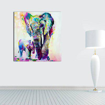Colorful and Warm Elephant Without Frame Oil PaintingOil Paintings<br>Colorful and Warm Elephant Without Frame Oil Painting<br><br>Craft: Oil Painting<br>Form: One Panel<br>Material: Canvas<br>Package Contents: 1 x Oil Painting<br>Package size (L x W x H): 40.00 x 5.00 x 5.00 cm / 15.75 x 1.97 x 1.97 inches<br>Package weight: 0.1500 kg<br>Painting: Without Inner Frame<br>Product size (L x W x H): 40.00 x 40.00 x 5.00 cm / 15.75 x 15.75 x 1.97 inches<br>Product weight: 0.1000 kg<br>Shape: Vertical<br>Style: Oil Painting, Artistic Style<br>Subjects: Animation<br>Suitable Space: Living Room,Bedroom,Dining Room,Office,Study Room / Office