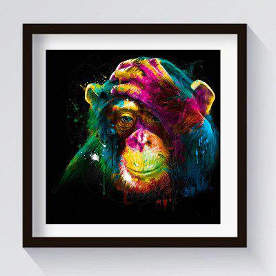 Lovely Orang-Utan Oil Painting Home Decoration