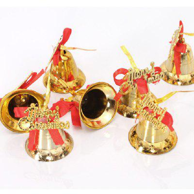 YEDUO 9Pcs Ornament Decorations Christmas Tree Decoration Shine Gold Hanging Bells Bowknot DiyChristmas Supplies<br>YEDUO 9Pcs Ornament Decorations Christmas Tree Decoration Shine Gold Hanging Bells Bowknot Diy<br><br>Material: Plastic<br>Package Contents: 1 x 9 Bells<br>Package size (L x W x H): 12.00 x 12.00 x 4.00 cm / 4.72 x 4.72 x 1.57 inches<br>Package weight: 0.4700 kg<br>Product size (L x W x H): 12.00 x 12.00 x 4.00 cm / 4.72 x 4.72 x 1.57 inches<br>Product weight: 0.4500 kg<br>Usage: Party, Christmas