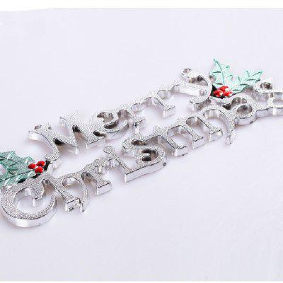 YEDUO 25cm Christmas Tree Decoration Ornaments Alphabet Letter CardsChristmas Supplies<br>YEDUO 25cm Christmas Tree Decoration Ornaments Alphabet Letter Cards<br><br>Material: Plastic<br>Package Contents: 1 x Letter Card<br>Package size (L x W x H): 25.00 x 6.00 x 4.00 cm / 9.84 x 2.36 x 1.57 inches<br>Package weight: 0.0600 kg<br>Product size (L x W x H): 25.00 x 6.00 x 3.00 cm / 9.84 x 2.36 x 1.18 inches<br>Product weight: 0.0500 kg