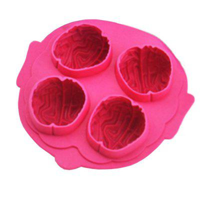 Novelty Brain Ice Cube and Chocolate Molding Party Tray