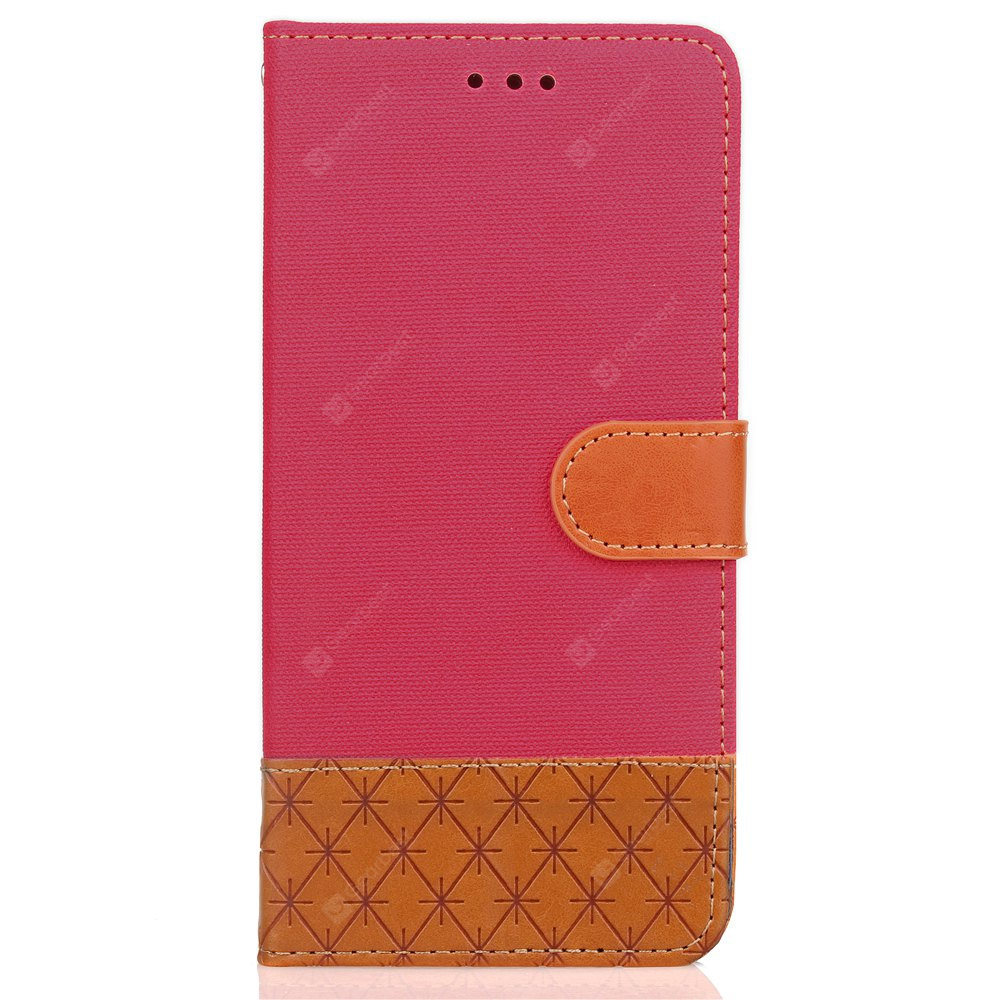 Hit Color Cowboy stripes Folha Card Lanyard Pu Leather Cover para Samsung Note8