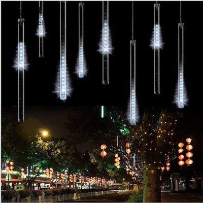 SUPli LED Meteor Shower LightsFalling Rain Drop Icicle Snow Fall String LED Waterproof Christmas Lights for Holiday Xmas Tree Valentine Wedding Party Decoration
