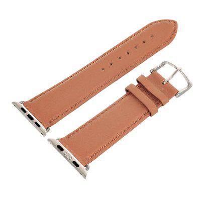 Replacement Leather Strap Watchband for Apple Watch 38mm