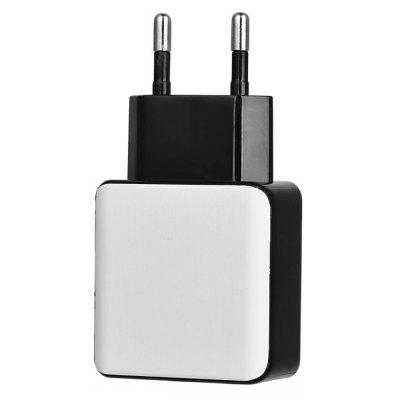 QC 3.0 5V/3A Quick Charge EU Plug USB AC Charger / USB Wall ChargerChargers &amp; Cables<br>QC 3.0 5V/3A Quick Charge EU Plug USB AC Charger / USB Wall Charger<br><br>Color: White<br>Mainly Compatible with: Nokia, Xiaomi, Apple, SAMSUNG, HTC<br>Package Contents: 1 x QC3.0 USB Charger<br>Package size (L x W x H): 14.70 x 9.90 x 2.20 cm / 5.79 x 3.9 x 0.87 inches<br>Package weight: 0.0480 kg<br>Product weight: 0.0430 kg<br>Type: Wall Charger