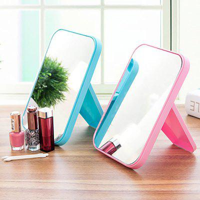 DIHE Cosmetic Make Up Mirror Table Model Square FoldMakeup Brushes &amp; Tools<br>DIHE Cosmetic Make Up Mirror Table Model Square Fold<br><br>Material: Glass<br>Package Contents: 1 x Mirror<br>Package size (L x W x H): 22.00 x 15.00 x 2.00 cm / 8.66 x 5.91 x 0.79 inches<br>Package weight: 0.0930 kg<br>Product size (L x W x H): 21.50 x 14.50 x 1.80 cm / 8.46 x 5.71 x 0.71 inches<br>Product weight: 0.0900 kg