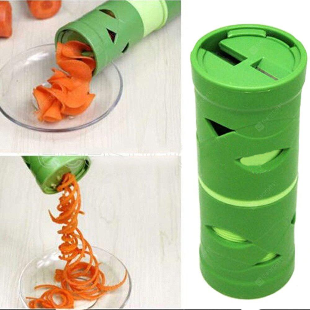 Manual Multifunctional Vegetable Fruit Cucumber Carrot Turning Cutter Spiral Slicer Spiralizer Processing Device
