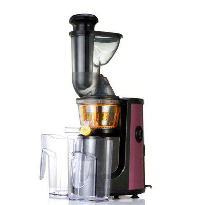 Buy 150W Electric Slow Whole Fruit Vegetable Juicer Low Noise Juice Extractor Luxury Purple Stainless Steel Finish PURPLE for $160.20 in GearBest store