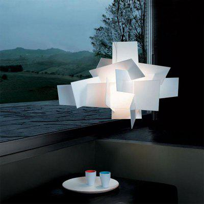 Modern Simple White Pendant lamp Creative Style for Office Room  Living Dining Room Bedrooms