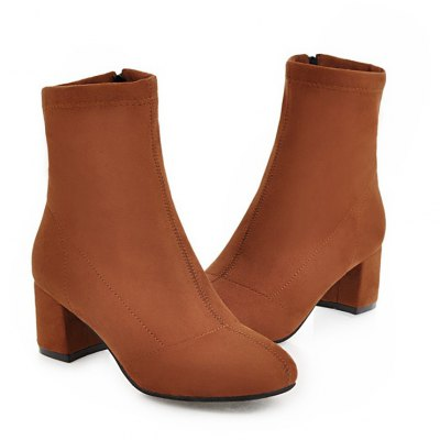 Women Shoes Concise Zip Chunky Heel Ankle BootsWomens Boots<br>Women Shoes Concise Zip Chunky Heel Ankle Boots<br><br>Boot Height: Ankle<br>Boot Tube Circumference: 26<br>Boot Tube Height: 14<br>Boot Type: Fashion Boots<br>Closure Type: Zip<br>Gender: For Women<br>Heel Height: 5.5<br>Heel Height Range: Med(1.75-2.75)<br>Heel Type: Chunky Heel<br>Insole Material: PU<br>Lining Material: PU<br>Outsole Material: Rubber<br>Package Contents: 1xShoes(pair)<br>Pattern Type: Solid<br>Platform Height: 1<br>Season: Winter<br>Shoe Width: Medium(B/M)<br>Toe Shape: Round Toe<br>Upper Material: PU<br>Weight: 1.8400kg