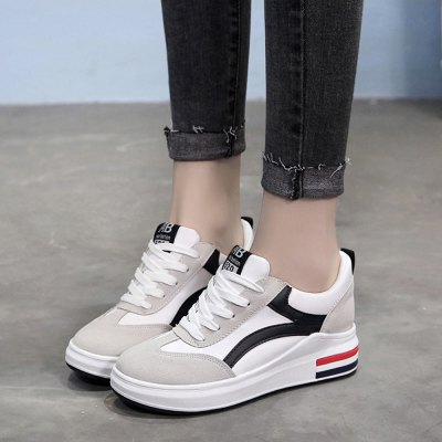 New Fashion Casual Leisure Soft Sports Outdoor Lace ShoesWomens Sneakers<br>New Fashion Casual Leisure Soft Sports Outdoor Lace Shoes<br><br>Available Size: 35 , 36 , 37 , 38 , 39<br>Closure Type: Lace-Up<br>Feature: Breathable<br>Gender: For Women<br>Outsole Material: Rubber<br>Package Contents: 1 x Shoes (Pair)<br>Package size (L x W x H): 15.00 x 10.00 x 5.00 cm / 5.91 x 3.94 x 1.97 inches<br>Package weight: 0.5000 kg<br>Pattern Type: Others<br>Season: Spring/Fall<br>Upper Material: PU