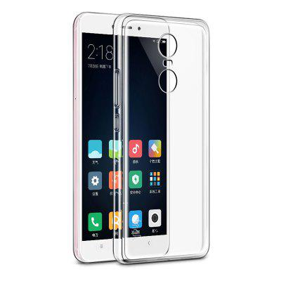 Crystal Clear Soft Silicone Transparent TPU Phone Case Cover For Xiaomi Redmi Note 4X