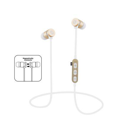 Bluetooth Headphones In Ear Wireless Earbuds 4.2 Magnetic Sweatproof Stereo Bluetooth Earphones for Sports With Mic Noise
