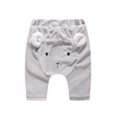 Girls Boys Kids Baby Toddlers Cute Bear's Ears bottoms pants