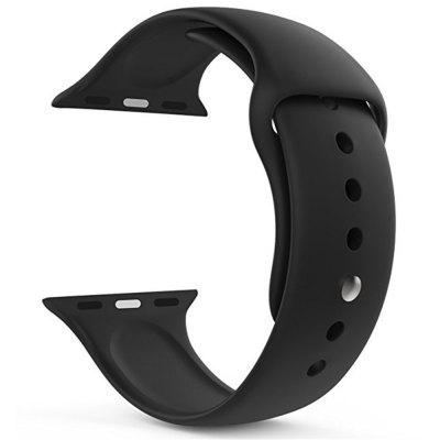 42mm Soft Silicone Strap Replacement Bands Sport for iWatch Series 3 / 2 / 1Smart Watch Accessories<br>42mm Soft Silicone Strap Replacement Bands Sport for iWatch Series 3 / 2 / 1<br><br>Package Contents: 1 x Watch Band with Adapter<br>Package size: 15.00 x 6.00 x 1.00 cm / 5.91 x 2.36 x 0.39 inches<br>Package weight: 0.0170 kg<br>Product size: 12.00 x 3.00 x 1.00 cm / 4.72 x 1.18 x 0.39 inches<br>Product weight: 0.0160 kg