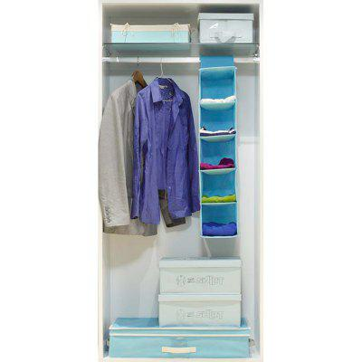 5 Layers of Non-Woven Hanging Storage Bag
