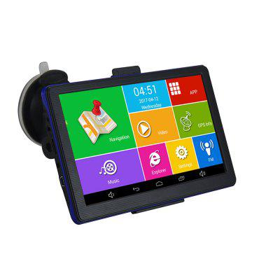 7 Inch HD Car GPS Navigation for Android 4.4 Bluetooth/AVIN/Europe/USA Canada Truck Vehicle Gps Navigator 512M 8GB