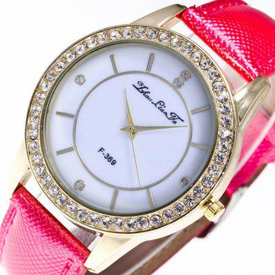 ZhouLianFa The New Trend of Diamond Crystal Gold Business Holiday Eye Table with Gift BoxWomens Watches<br>ZhouLianFa The New Trend of Diamond Crystal Gold Business Holiday Eye Table with Gift Box<br><br>Band material: PU Leather<br>Band size: 23 x 2cm<br>Brand: ZhouLianFa<br>Case material: Alloy<br>Clasp type: Pin buckle<br>Dial size: 4 x 4 x 1cm<br>Display type: Analog<br>Movement type: Quartz watch<br>Package Contents: 1 x Watch , 1 x Box<br>Package size (L x W x H): 14.00 x 9.00 x 6.00 cm / 5.51 x 3.54 x 2.36 inches<br>Package weight: 0.1000 kg<br>Product size (L x W x H): 23.00 x 4.00 x 1.00 cm / 9.06 x 1.57 x 0.39 inches<br>Product weight: 0.0300 kg<br>Shape of the dial: Round<br>Watch mirror: Mineral glass<br>Watch style: Casual, Fashion, Classic, Business, Retro, Lovely, Outdoor Sports, Childlike<br>Watches categories: Women,Female table<br>Water resistance: No