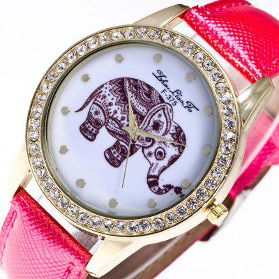ZhouLianFa The New Trend of Diamond Crystal Gold Business Hugh Elephant Stone Table with Gift BoxWomens Watches<br>ZhouLianFa The New Trend of Diamond Crystal Gold Business Hugh Elephant Stone Table with Gift Box<br><br>Band material: PU Leather<br>Band size: 23 x 2cm<br>Brand: ZhouLianFa<br>Case material: Alloy<br>Clasp type: Pin buckle<br>Dial size: 4 x 4 x 1cm<br>Display type: Analog<br>Movement type: Quartz watch<br>Package Contents: 1 x Watch , 1 x Box<br>Package size (L x W x H): 14.00 x 9.00 x 6.00 cm / 5.51 x 3.54 x 2.36 inches<br>Package weight: 0.1000 kg<br>Product size (L x W x H): 23.00 x 4.00 x 1.00 cm / 9.06 x 1.57 x 0.39 inches<br>Product weight: 0.0300 kg<br>Shape of the dial: Round<br>Watch mirror: Mineral glass<br>Watch style: Casual, Fashion, Classic, Business, Retro, Lovely, Outdoor Sports, Childlike<br>Watches categories: Women,Female table<br>Water resistance: No