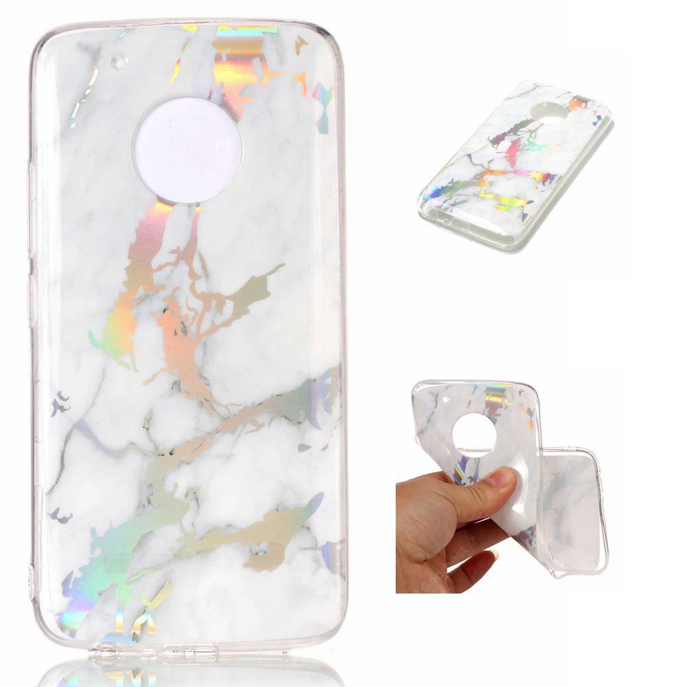 Luxury Ultra Thin Soft TPU Marble Case for Motorola Moto G5 Plus