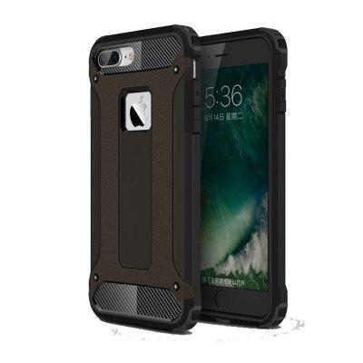 Ultra mince antichoc raboteuse Impct Hybrid hybride Silicone Back Cover pour iPhone 7 Plus / 8 Plus