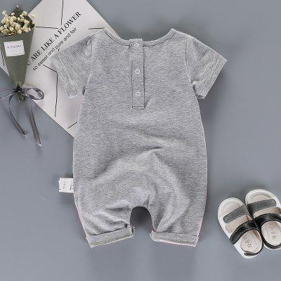 Baby Clothes Summer Newborn Boy Girl Romper MD170X009Baby Gear<br>Baby Clothes Summer Newborn Boy Girl Romper MD170X009<br><br>Brand: TAOQIMAIDOU<br>Closure Type: Pullover<br>Collar: Round Neck<br>Gender: Unisex<br>Material: Cotton Blend, Cotton<br>Package Contents: 1 x Romper<br>Season: Summer<br>Sleeve Length: Half<br>Thickness: Thin<br>Weight: 0.6000kg