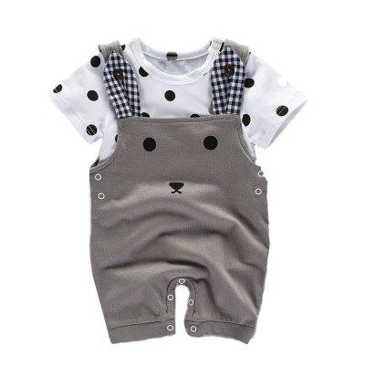 Baby Summer Newborn Boy Girl Clothes Set Fashion Brand Products Infant Clothing MD170X034