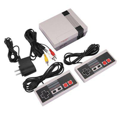 Mini Classic 620 Games Console Entertainment SystemHandheld Games<br>Mini Classic 620 Games Console Entertainment System<br><br>Compatible with: Built-in Games, NES, TV<br>Language: English<br>Package Contents: 1 x Game console, 2 x wired controllers (joystick), 1 x Audio / Video Cable for TV, 1 x US plug<br>Package size: 22.60 x 17.20 x 7.90 cm / 8.9 x 6.77 x 3.11 inches<br>Package weight: 0.5870 kg<br>Pre-positioned Games Number: Built-in 620 classic games<br>Product size: 13.00 x 10.10 x 4.10 cm / 5.12 x 3.98 x 1.61 inches<br>Screen size: 3.0 inch